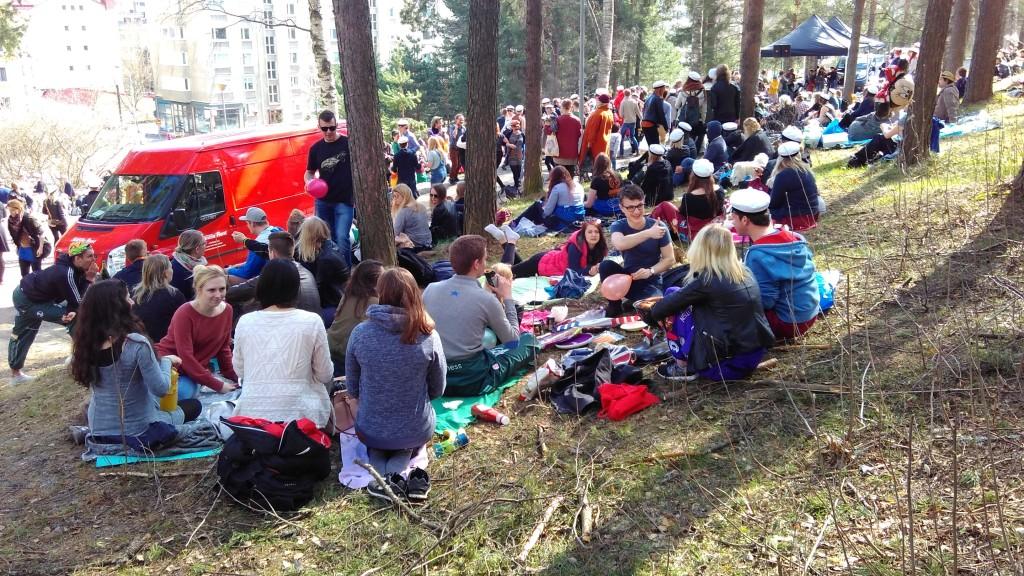 Sunday picnics on Harju